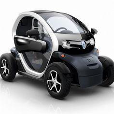 The 100% electric Renault Twizy car / quadricycle www.renault.com/en/vehicules/aujourd-hui/renault-vehicules-electriques/pages/twizy.aspx