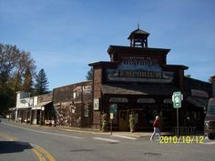 I love Winthrop, Washington.  It is the gateway into the Cascade National Park.