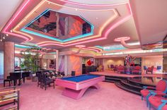 Pink party pad