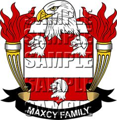 Maxcy Family Crest apparel, Maxcy Coat of Arms gifts