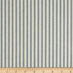 44'' Ticking Stripe Canvas Twill Denim Blue Fabric By The... http://www.amazon.com/dp/B00H5D1XEW/ref=cm_sw_r_pi_dp_5xwjxb189K456