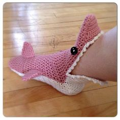 MADE TO ORDER, Crochet Shark Slipper booties/ socks, Adult Men/Women's sizing, choose your color by WoolyKnitsandCrochet http://ljsocks.com/s/made-to-order-crochet-shark-slipper-booties-socks-adult-menwomens-sizing-choose-your-color-by-woolyknitsandcrochet/