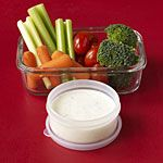 Healthy Office Snacks: Nuts, Fruit, Crackers & PB, Popcorn, Oatmeal, Pitas & Hummus, Veggies w/Ranch