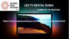 Techno Edge Systems LLC is an exemplary LED TV Rental service provider in UAE. We are notified of our splendid rental services & distribution in Dubai as we are driven by professional service engineer team.Approach us on +971-54-4653108 to know more about LED TV rental services