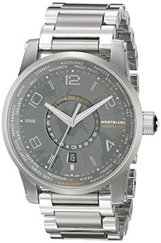 Montblanc Timewalker World-Time Southern Hemispheres Men's Stainless Steel Swiss Automatic Watch 108956 https://www.carrywatches.com/product/montblanc-timewalker-world-time-southern-hemispheres-mens-stainless-steel-swiss-automatic-watch-108956/  #automati