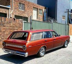 FALCON XT WAGON - 1968 Australian Muscle Cars, Aussie Muscle Cars, Ford Falcon Australia, Big Girl Toys, Ford Girl, V8 Supercars, Car Ford, Station Wagon, Old Cars