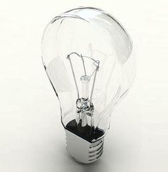 Flat light bulb by designer Joonhuyn Kim