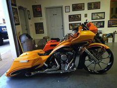 Harley Bagger, Bagger Motorcycle, Harley Bikes, Harley Davidson Motorcycles, Custom Motorcycles, Custom Baggers, Custom Harleys, Custom Street Bikes, Custom Bikes