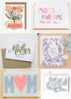 Oh So Beautiful Paper: Seasonal Stationery: Mother's Day Cards, Part 4