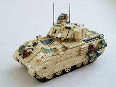 レゴ 戦車作品『 M2ブラッドレー歩兵戦闘車 』 Mad physicist さんの作品 http://legoleaks.blog28.fc2.com/blog-entry-3972.html | ジャパンカルチャーのオンラインコレクションギャラリー WONDER!