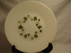 "CERANORD, "" FEUILLES D'AUTOMNE "" MADE IN FRANCE CHINA 10"" DINNER PLATE"