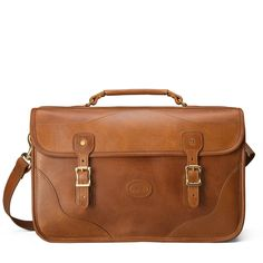 Leather Executive Briefcase, Document Case - Distressed Leather   J.W. Hulme Co.