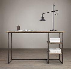 Vintage-Industrial-Home-or-Office-Desk £299