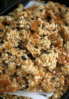 Cookies and Cups Snacking Granola Clusters - Cookies and Cups Granola Cookies, Granola Bites, Bar Cookies, Oatmeal Cookies, Best Granola, Healthy Granola Bars, Chunky Granola Recipe, Granola Clusters, Breakfast Cookies