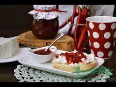 Dulceata de Ardei Iute- reteta fara conservanti.Cum se prepara dulceata de ardei iute pentru aperitive, fripturi si platouri cu branzaturi.Reteta video Pudding, Desserts, Food, Tailgate Desserts, Deserts, Custard Pudding, Essen, Puddings, Postres
