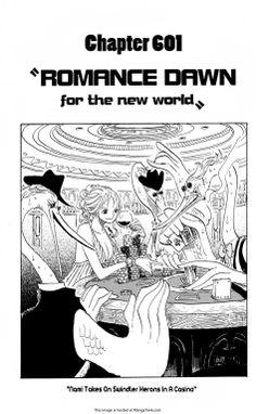 One Piece Manga ch.601 Page 1