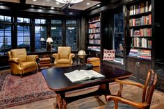 Artistic Wesley Hall Furniture trend Dallas Traditional Home Office Image Ideas with arm chairs bay window