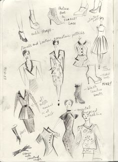 23.7.12 Notes on Fall Fashion for an upcoming job…