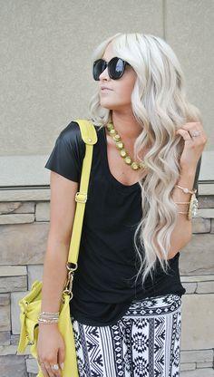 CARA LOREN: her hair is so perfect! long wavy curls tutorial