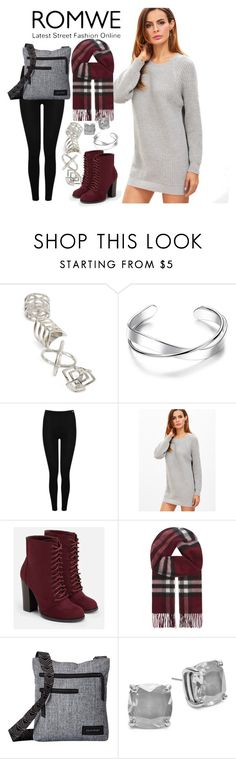 """""""Untitled #134"""" by faceless-girl on Polyvore featuring Topshop, Heat Holders, JustFab, Burberry, Dakine and Kate Spade"""