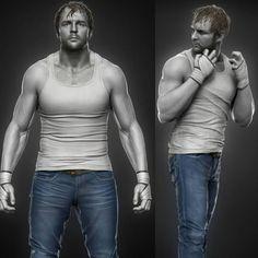 Dean Ambrose, Digital