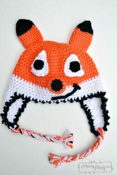 Crochet Fox Beanie – Free Pattern - 50 Free Crochet Fox Patterns - Crochet Fox Hat - Page 3 of 3 - DIY & Crafts