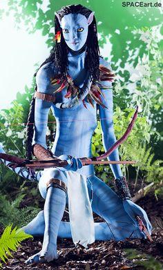 Avatar: Neytiri - Life-Size Statue, Fertig-Modell ... http://spaceart.de/produkte/avt003.php