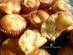 muffinmele1 Sweet Cooking, Ricotta, Nutella, Yogurt, Muffins, Food And Drink, Apple, Cookies, Breakfast