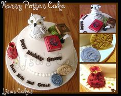 Harry Potter Cake - Lisa's Cakes by Lisa's Cake Creations, via Flickr