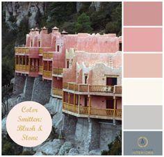 Amanda Carol Interiors | Color Smitten: Blush and Stone | http://blog.amandacarolinteriors.com