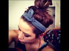 Hair Accessories: DIY Headband