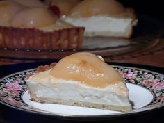 Thibeault's Table: The Shire House Cream Cheese Pear Tart {no bake!}