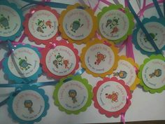 10 Team Umizoomi 2 personalized bubble ties gift tags by kadkinson, $3.50
