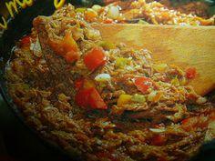 un mondo di ricette: la cucina dei caraibi  - la ropa veja con manzo e ...