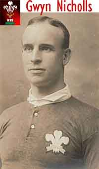 """Rugby History : today 13/01 in 1906.   England 3-16 Wales - Wales, playing seven forwards & eight backs for the first time in a Championship match, defeated England 16-3 at Richmond. Centre Gwyn Nicholls skippered the visitors, who scored four tries through wings Hop Maddock and Teddy Morgan and forwards Charlie Pritchard and Jehoida Hodges. On Boxing Day 1949 the """"Gwyn Nicholls Memorial Gates"""" were opened at Arms Park. 2005 Gwyn Nicholls was inducted into the International Rugby Hall of…"""