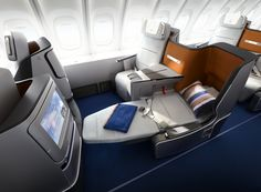In the highly competitive airline industry, a good premium cabin is the ultimate differentiator. Not only do business and first-class seats bring in American Airlines, European Airlines, Private Jet Interior, First Class Flights, First Class Seats, Frequent Flyer Program, Thing 1, Travel Reviews, Online Travel