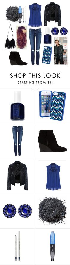 """""""Movies with Liam"""" by sarahorantomlinson ❤ liked on Polyvore featuring Essie, Vera Bradley, AG Adriano Goldschmied, Whistles, Color My Life, Illamasqua, Eyeko and L'Oréal Paris"""