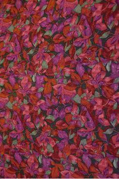 Flower Designer Printed Pure Crepe Silk Fabric   Product Code: DMJG00015