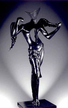Salvador Dali: Surrealist Angel – bronze sculpture