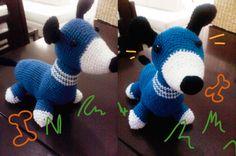 perro crochet