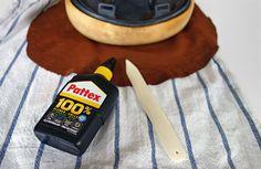 DIY Sattel Beziehen Leder