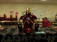 #65 - Iron Man Visual Art 3D during the Student Summit at Kearney in February