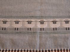 "handwoven sheep towels.  #silvercreekweaving weaving draft from Interweave Press, ""Top Ten Towels On Eight Shafts"""