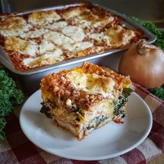 Simply Sophisticated Cooking   Vegetarian Lasagna with Barley Red Sauce Layer and Butternut Bechamel Sauce