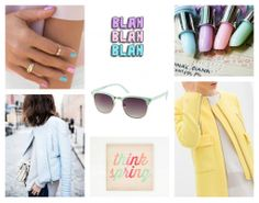 Moodboard thursday! This week it's all about pastel and girly things. #pastel