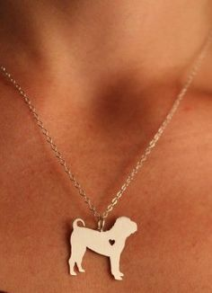 You love your Shar Pei. Show it with this beautiful necklace. Available in gold or silver. Includes 18 inch zinc alloy chain. Buy this necklace now at this low introductory price!