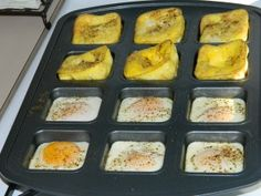 FREEZER-BREAKFAST- Great idea to cook eggs
