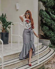 Long Skirt Outfits, Boho Outfits, Fashion Outfits, Modest Fashion, Boho Fashion, Western Outfits Women, Fashion Forever, Boho Look, Cute Skirts