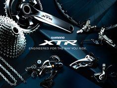 Shimano Announces New XT Group - Singletracks Mountain Bike News Shimano Mtb, Bicycle Store, Bike News, Bicycle Components, Fishing Equipment, Rowing, Travel And Leisure, New Product, Mountain Biking