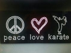 Peace Love Karate